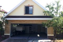 Отделка фасадов - оштукатуривание и плитка