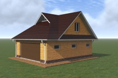 3d-модель гаража