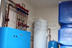 Внутренние инженерные системы гаража