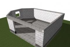 Монолитный пояс по стенам