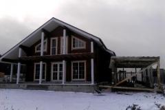 Устройство зимнего тепляка для строительства