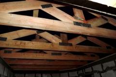 Стропильные фермы гаража, хозблока, навеса