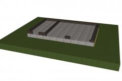 Проект цоколя гаража