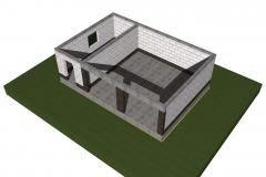 Проект монолитных конструкций - балок и обвязочного пояса