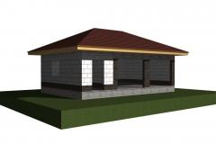 Проект крыши и кровли гаража