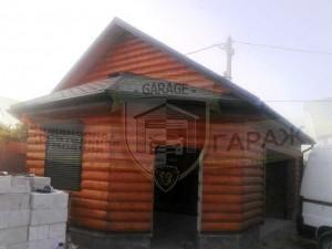Строительство гаража с чердаком, подвалом и хозблоком, из газобетона