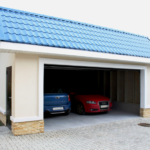 Компактный гараж на 1-2 машины, каркас, 6,3х5,9 м